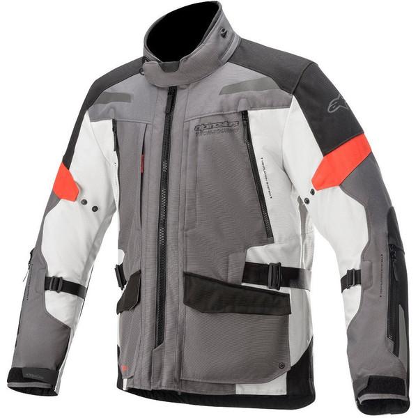 Alpinestars Valparaiso V3 Drystar Textile Jacket - Grey / Red