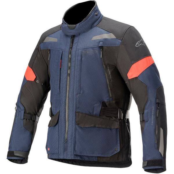 Alpinestars Valparaiso V3 Drystar Textile Jacket - Dark Blue / Black