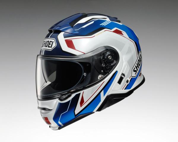Shoei Neotec 2 Flip Front Helmet - Respect TC10 Blue