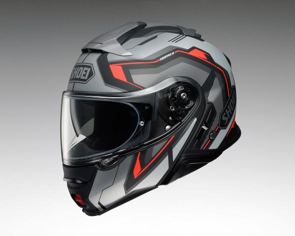 Shoei Neotec 2 Flip Front Helmet - Respect TC5 Grey