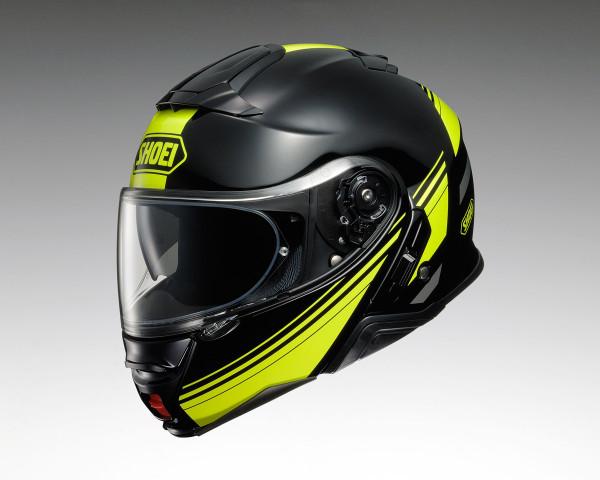 Shoei Neotec 2 Flip Front Helmet - Separator TC3 Yellow