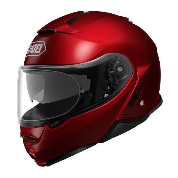 Shoei Neotec 2 Flip Front Helmet - Plain Wine Red