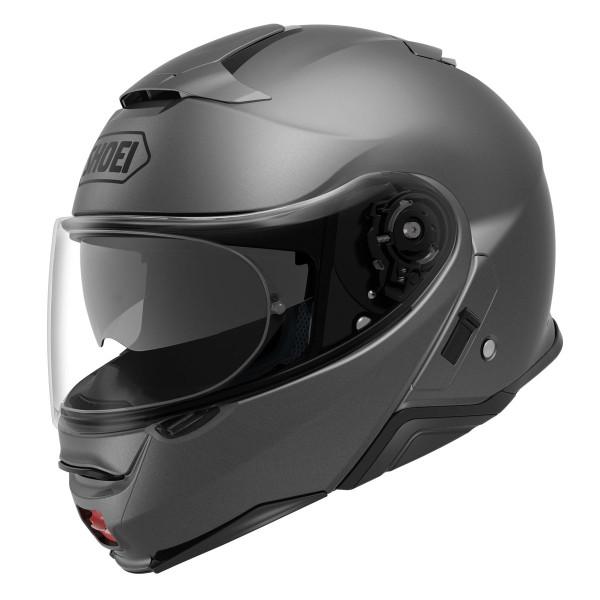 Shoei Neotec 2 Flip Front Helmet - Plain Matt Deep Grey