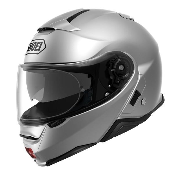 Shoei Neotec 2 Flip Front Helmet - Plain Light Silver