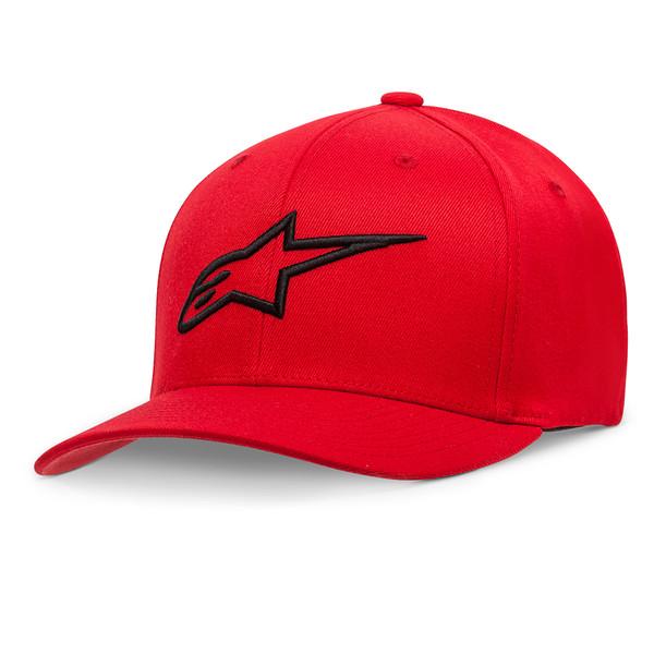 Alpinestars Ageless Curve Hat Red & Black