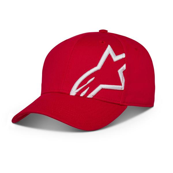 Alpinestars Corp Snap 2 Hat Red White