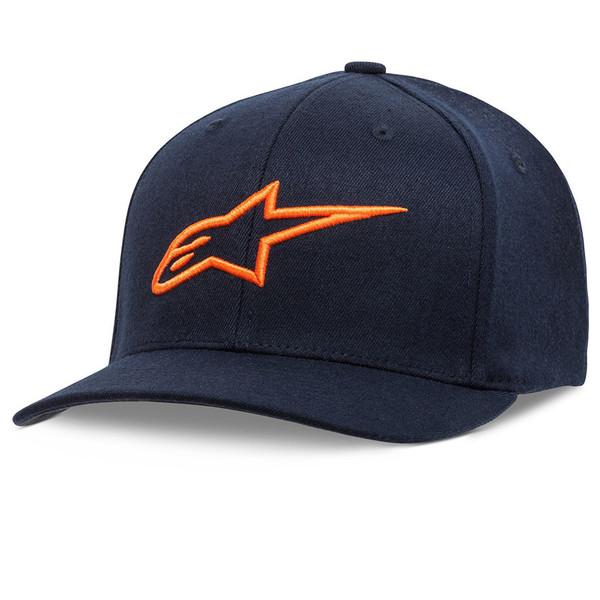 Alpinestars Corp Snap 2 Hat Navy Orange