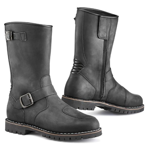 TCX Fuel Vintage Waterproof Leather Boots - Black