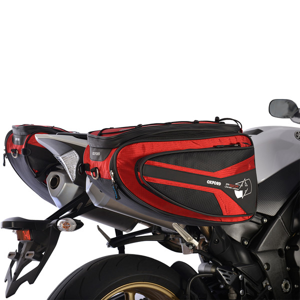 Oxford P50R PANNIERS - RED