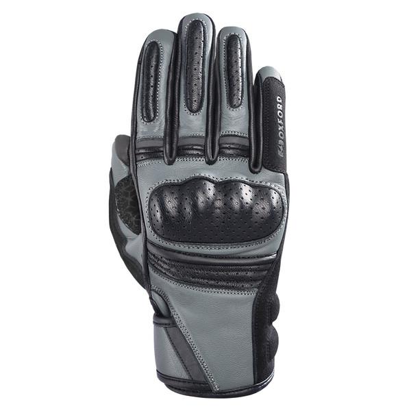 Oxford Ontario Ladies Leather Gloves - Charcoal / Black