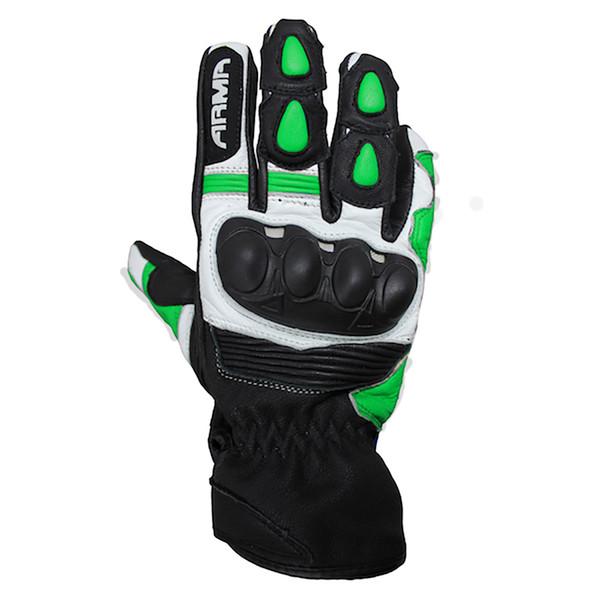 ARMR Eyoshi Leather Gloves - Black / Green