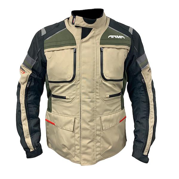 ARMR Tottori 3 Waterproof Touring Jacket - Olive