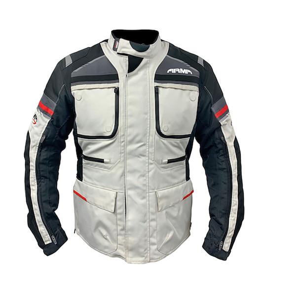 ARMR Tottori 3 Waterproof Touring Jacket - Stone