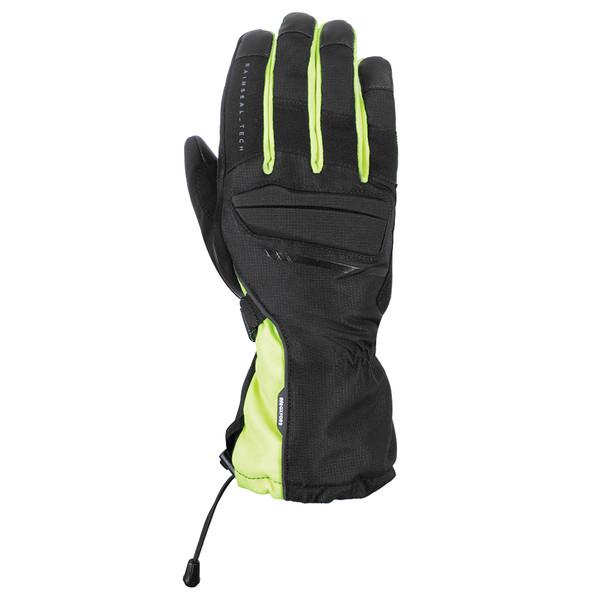 Oxford Convoy 2.0 Winter Waterproof Gloves - Stealth Black / Fluo