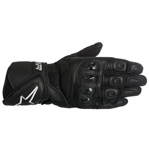 Alpinestars SP Air Leather Sport Gloves - Black