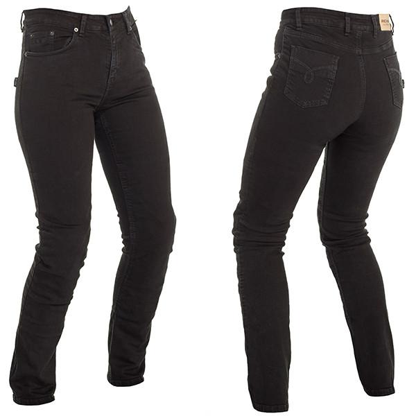Richa Nora Ladies Slim Fit Jeans Regular - Black