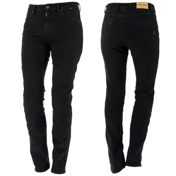 Richa Nora Ladies Jeans Regular - Black