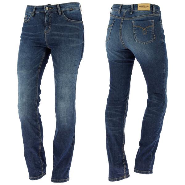 Richa Nora Ladies Jeans Regular - Dark Blue