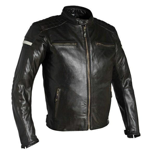 Richa Daytona Buffalo Leather Jacket - Brown