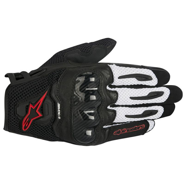 Alpinestars SMX-1 Air Motorcycle Glove - Black / Red
