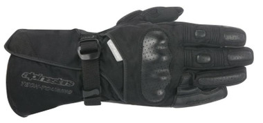 Alpinestars Apex Drystar Waterproof Motorcycle Gloves - Black