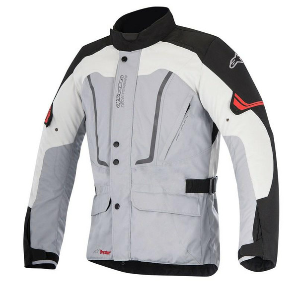 Alpinestars Vence Drystar Waterproof Textile Jacket - Grey