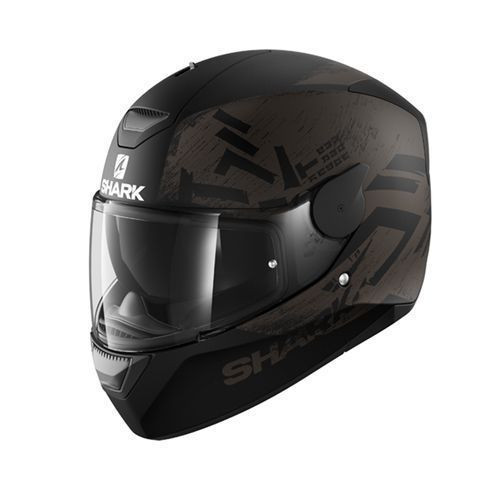 Shark D-Skwal Hiwo Full Face Helmet - Black / Anthracite