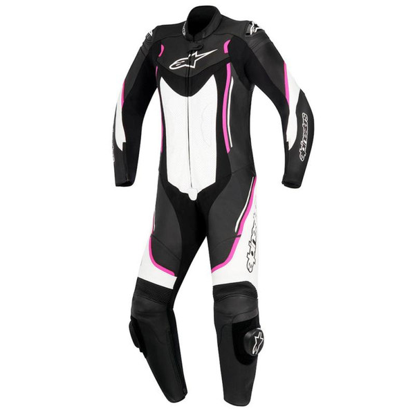 Alpinestars Stella Motegi V2 Leather 1 Piece Suit Black / Fuchsia