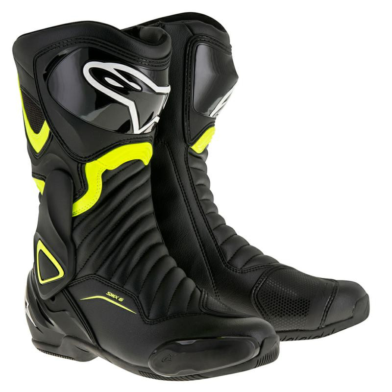 Alpinestars SMX 6 V2 Sports Boots - Black   Yellow. Loading zoom 6da5603cb18