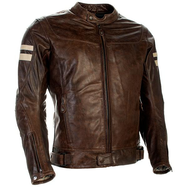 Richa Hawker Buffalo Leather Jacket - Cognac