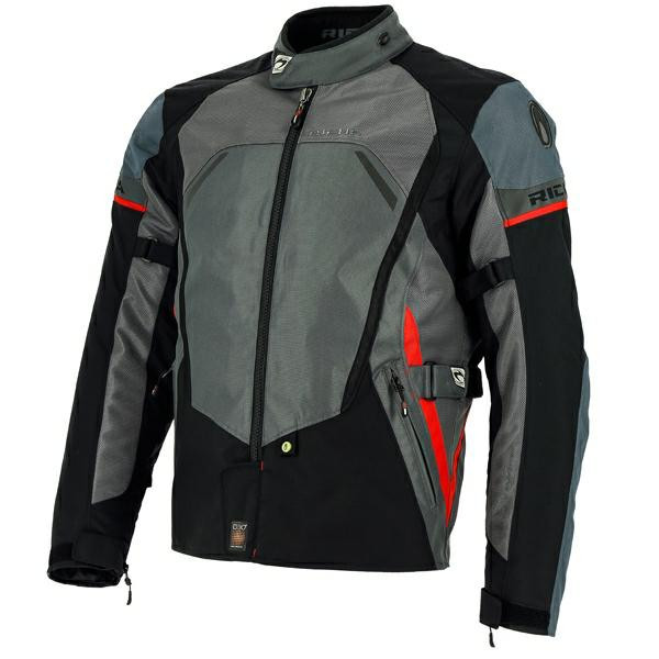 Richa Scirocco Waterproof Mesh Jacket - Black / Grey
