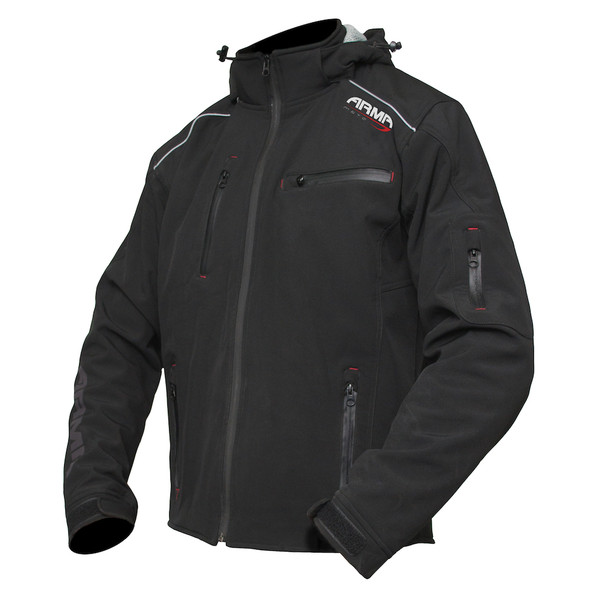 Armr Sukuta Soft Shell Textile Jacket - Black