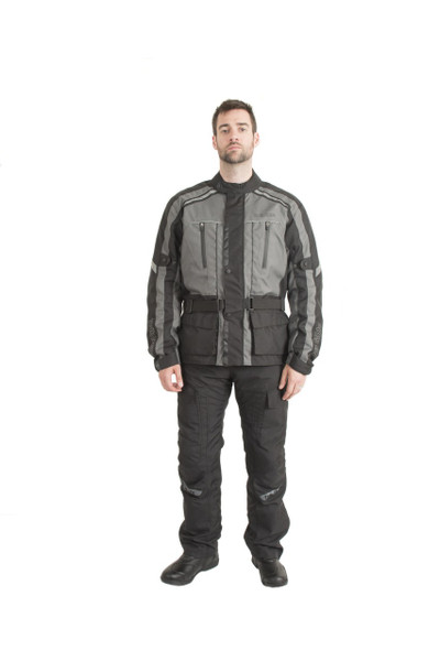 Trik Moto M100 3/4 Touring Waterproof Jacket - Gun Metal