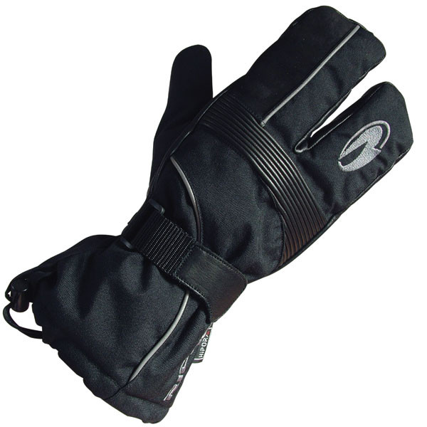 Richa 2330 Waterproof Mitten Styled Gloves - Black
