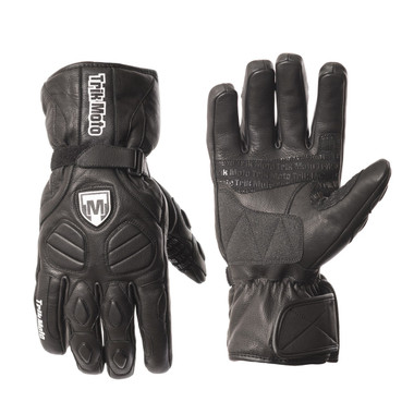 TriK Moto M136 Waterproof Textile Gloves - Black