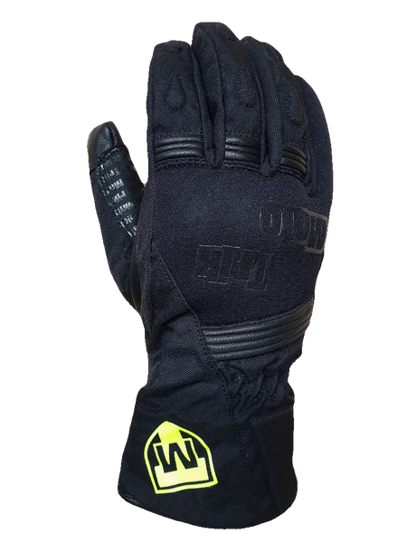 Trik Moto M150 Textile Waterproof Gloves - Black
