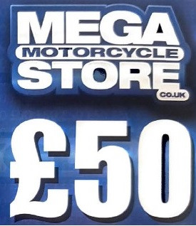 Mega Motorcycle Store Gift Voucher £50