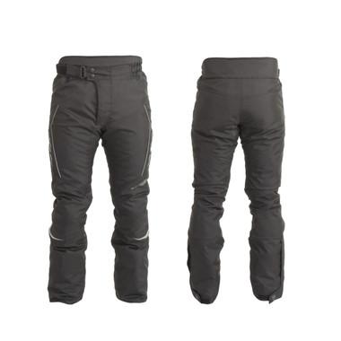 Trik Moto M107 Textile Waterproof Trousers - Black