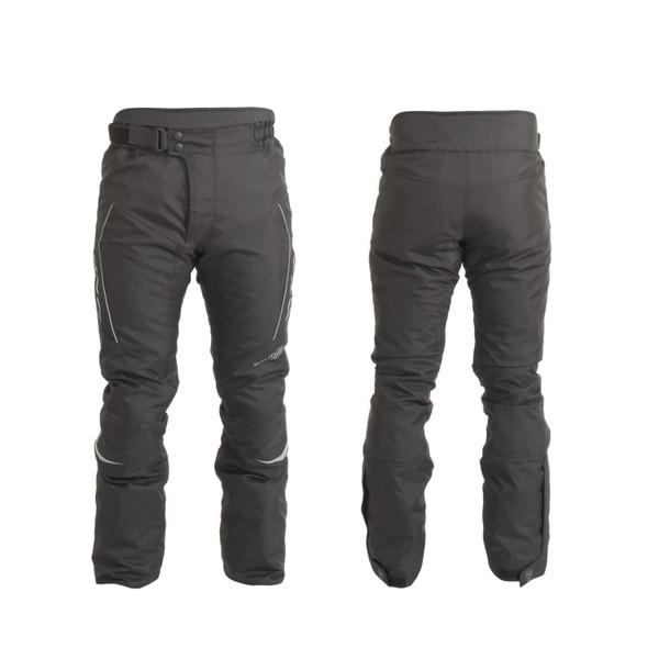 Trik Moto M107 Textile Waterproof Trousers - Black