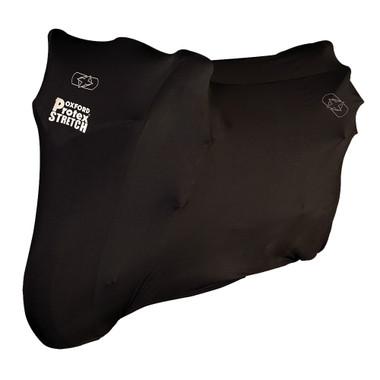 Oxford Protex Stretch Indoor Premium Stretch-Fit Cover Black - Small