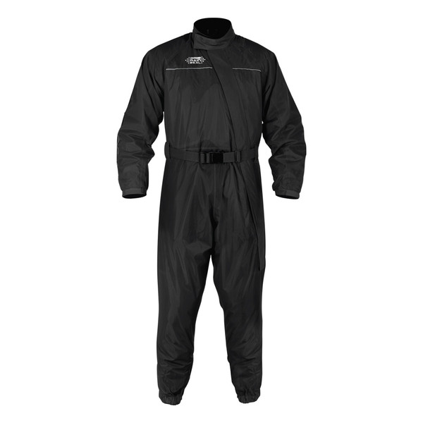 Oxford Rainseal Waterproof Over Suit - Black