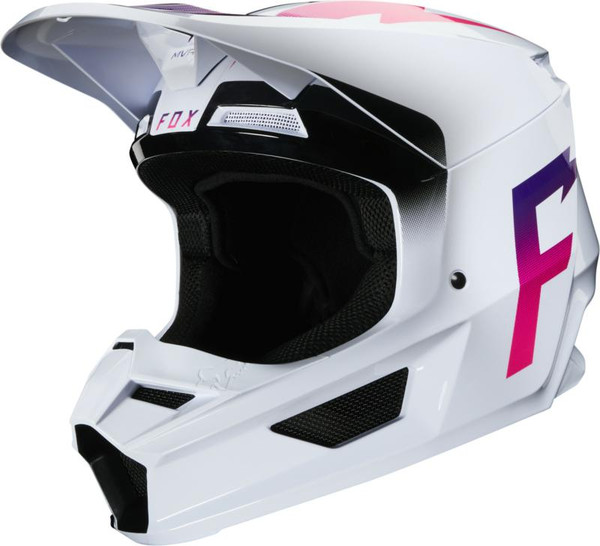 Fox V1 Werd MX20 Motocross Helmet - White