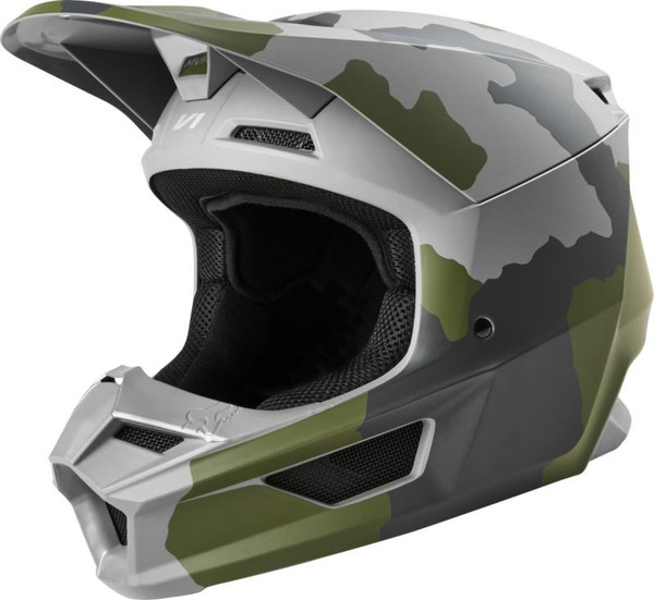 Fox Youth V1 Przm MX20 Motocross Helmet - Camo