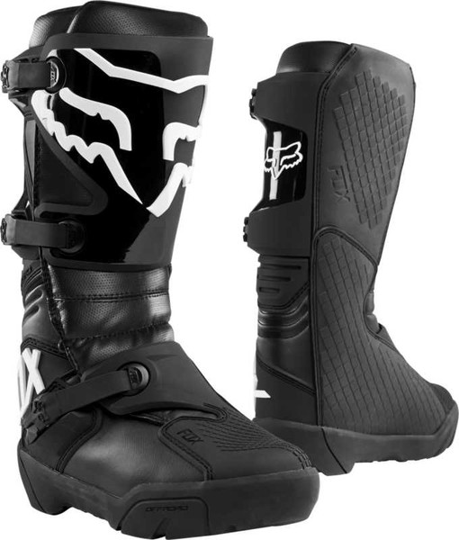 Fox Comp X Motorcross Boots - Black