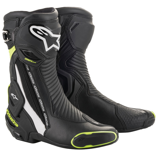 Alpinestars SMX Plus V2 Sports Boots - Black / Yellow