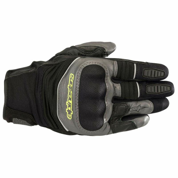 Alpinestars Crosser Air Touring Gloves - Grey / Fluo