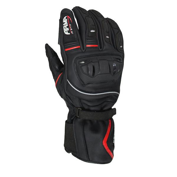 Armr WPS880 Waterproof Sports Gloves - Black