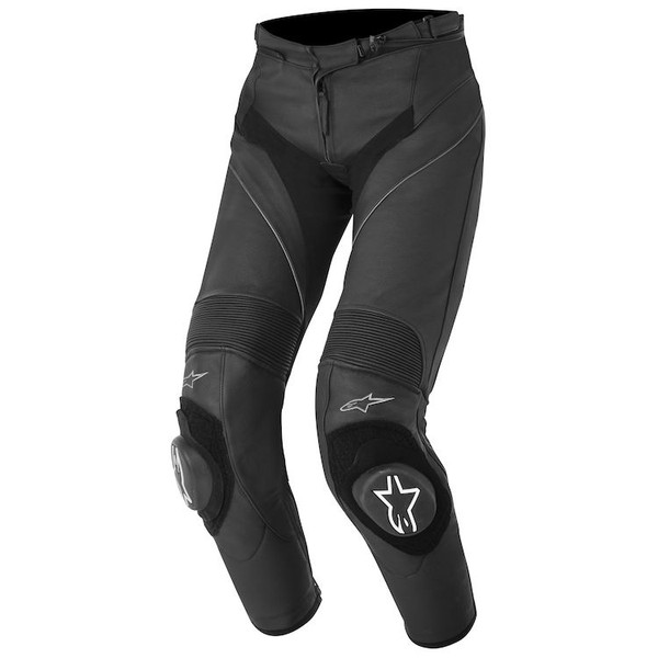 Alpinestars Stella Womans Missile Leather Pants - Black