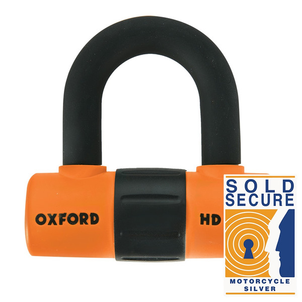 Oxford HD Max DiscLock - Orange