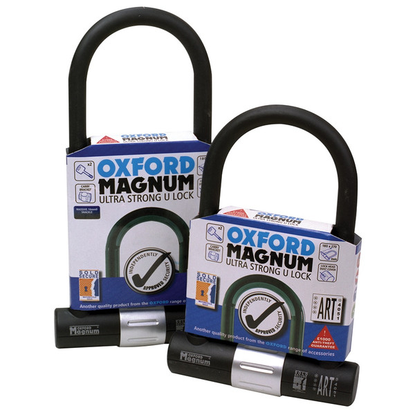 Oxford Magnum U-Lock with Bracket 170mm x 315mm